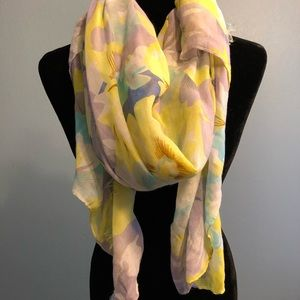 Accessories - Pastel Floral Scarf
